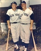 Roger Maris & Mickey Mantle SALE 8X10 Glossy Card Stock SUPER SALE!