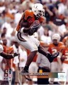 Andre Johnson LIMITED STOCK Miami Hurricanes 8X10 Photo