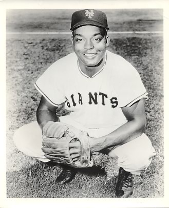 Monte Irvin New York Giants Original Old 8X10 Photo