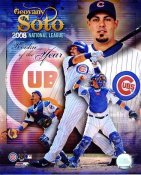 Geovany Soto R.O.Y 2008 LIMITED STOCK Chicago Cubs 8X10 Photo