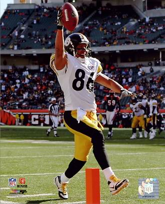 Hines Ward Pittsburgh Steelers 8x10 Photo LIMITED STOCK -