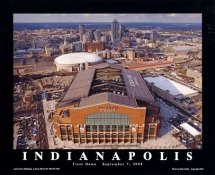 A1 Lucas Oil Stadium Aerial 1st Game 9/7/2008 Indianapolis Colts 8x10 Photo