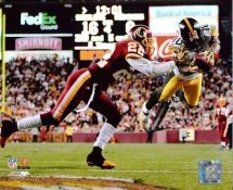 Santonio Holmes and Carlos Rogers Pittsburgh Steelers / Washington Redskins LIMITED STOCK  8x10 Photo