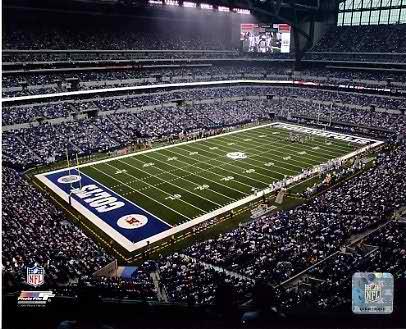 N2 Lucas Oil Stadium Indianapolis Colts 8X10 Photo