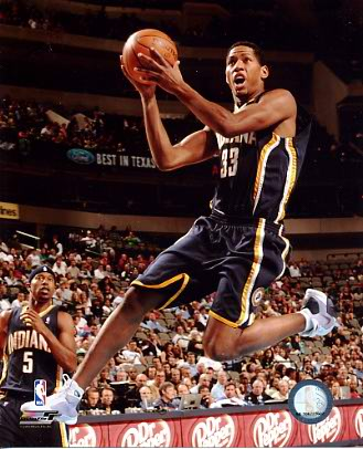 Danny Granger LIMITED STOCK Indiana Pacers 8x10 Photo