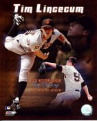 Tim Lincecum 2008 Cy Young Winner LIMITED STOCK San Francisco Giants 8X10 Photo