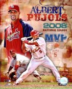Albert Pujols 2008 National League MVP St. Louis Cardinals 8X10 Photos