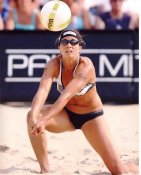Misty May 8X10 Volleyball Photo