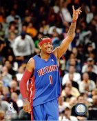 Allen Iverson LIMITED STOCK Detroit Pistons 8X10 Photo