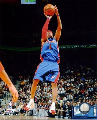 Allen Iverson LIMITED STOCK Detroit Pistons 8X10 Photo