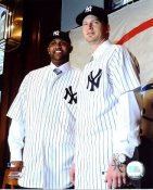 AJ Burnett and CC Sabathia LIMITED STOCK New York Yankees 8X10 Photo