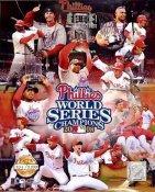 Phillies 2008 WS LTD Composite 8X10 Photo