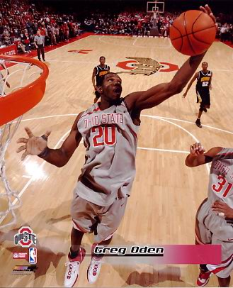Greg Oden OSU Ohio State 8X10 Photo LIMITED STOCK