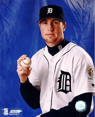 Adam Bernero G1 Out of Print Detroit Tigers 8X10 Photo