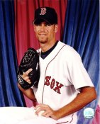 Casey Fossum G1 Out of Print Boston Red Sox 8X10 Photo