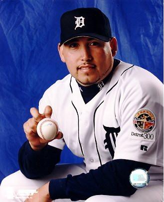 Juan Acevdo G1 Out of Print Detroit Tigers 8X10 Photo