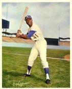 Lou Johnson Original Stadium Souvenir With Stamped Signature Dodgers 8X10 Photo