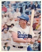 Bill Sudakis Original Stadium Souvenir With Stamped Signature Dodgers 8X10 Photo