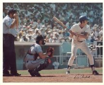 Rick Auerbach Original Stadium Souvenir With Stamped Signature Dodgers 8X10 Photo