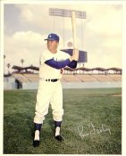 Ron Fairly Original Stadium Souvenir With Stamped Signature Dodgers 8X10 Photo