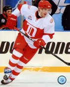 Pavel Datsyuk 2009 Winter Classic Detroit Red Wings 8x10 Photo