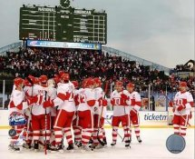 Detroit 2009 Celebration Winter Classic Red Wings 8x10 Photo