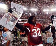 Edgerrin James 2008 NFC Champions Arizona Cardinals 8X10 Photo