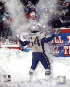 Tedy Bruschi Snow Game 2/7/03 New England Patriots 8X10 Photo