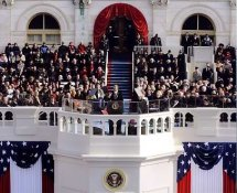 President Barack Obama Inaugural Address 8x10 Photo