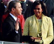 President Barack Obama Inaugural Oath 8x10 Photo