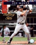 Joe Mauer LIMITED STOCK 2008 Batting Title Twins 8X10 Photo