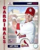 Larry Bigbie G1 Limited Stock Rare Cardinals 8X10 Photo