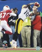 Santonio Holmes TD to win Super Bowl 43 LIMITED STOCK Pittsburgh Steelers 8x10 Photo