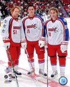 Brian Campbell, Patrick Kane and Jonathan Toews 2009 Allstar Game Chicago Blackhawks 8x10 Photo
