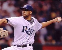 David Price Tampa Bay Devil Rays 8X10 Photo