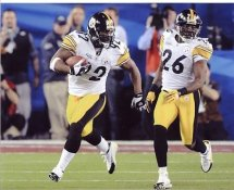 James Harrison & Deshea Townsend Super Bowl 43 Steelers 8x10 Photo  LIMITED STOCK
