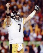 Ben Roethlisberger Super Bowl 43 LIMITED STOCK Pittsburgh Steelers 8x10 Photo