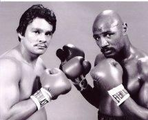 Marvin Hagler/ Roberto Duran Boxing 8x10 Photo