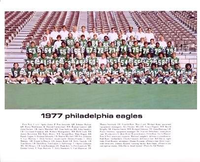Philadelphia 1977 Eagles Team 8x10 Photo  LIMITED STOCK -