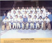 Buffalo 1978-79 Sabres 8x10 Photo