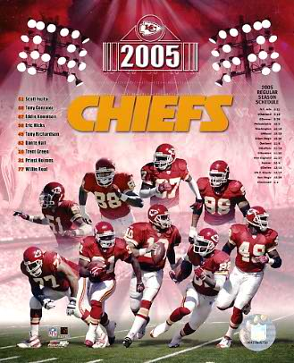 Chiefs 2005 Kansas City 8X10 Photo