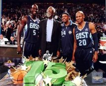 Bill Russell, Kevin Garnett, Paul Pierce, Ray Allen Celtics 8X10 Photo LIMITED STOCK