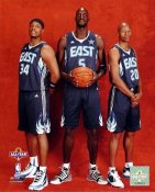 Ray Allen, Paul Pierce, Kevin Garnett LIMITED STOCK Celtics 8X10 Photo