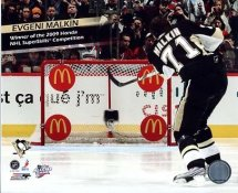 Evgeni Malkin Winner of the 2009 Superskills Competition LIMITED STOCK Pittsburgh Penguins 8x10 Photo