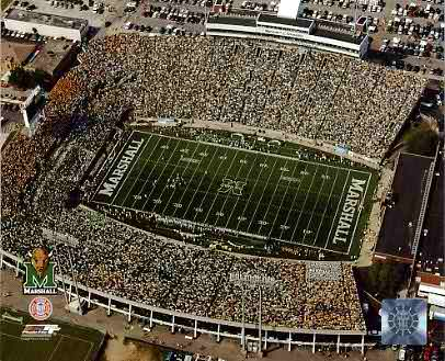 N2 Marshall University Stadium 8X10 Photo