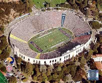 N2 Berkeley Bears Stadium 2005 University of California 8X10 Photo