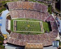 N2 Milan Puskar Stadium West Virginia University 8X10 Photo