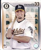 Nick Swisher G1 Limited Stock Rare Oakland A's 8X10 Photo LIMITED STOCK