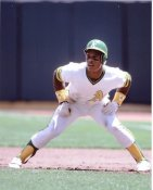 Rickey Henderson Oakland A's 8X10 Photo