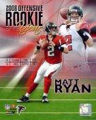 Matt Ryan R.O.Y  LIMITED STOCK Atlanta Falcons 8X10 Photo